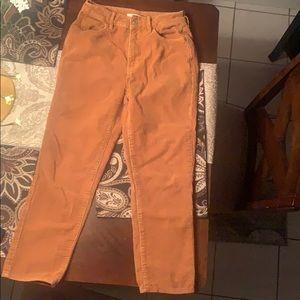 PacSun Mom Corduroy jeans size 26